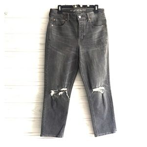 NEW AEO Vintage Hi Rise Stretch Distressed Jeans